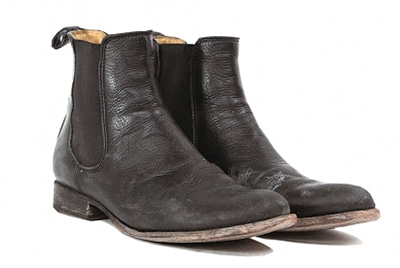 make old leather boots look like new