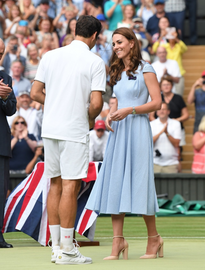 Kate Middleton in ALDO shoes