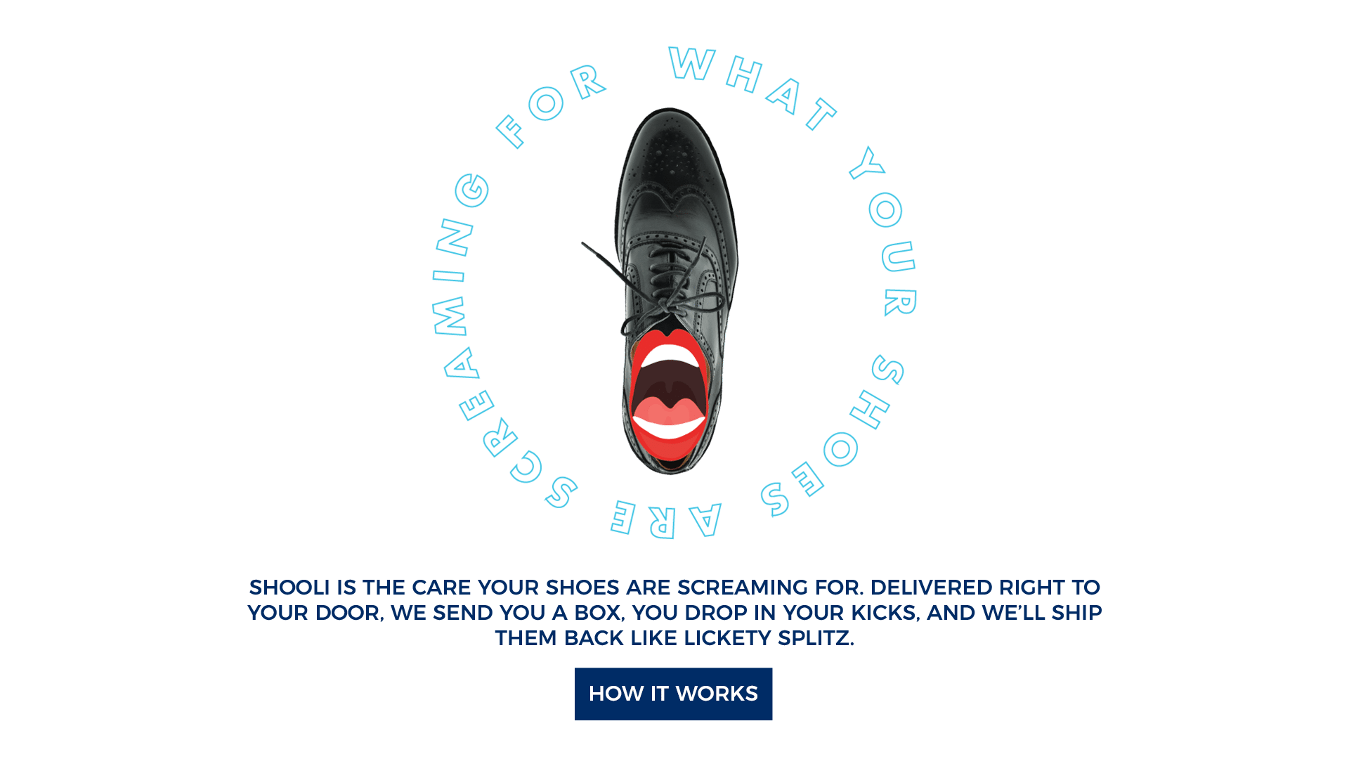 online shoe shine and shoe repair service
